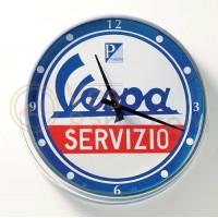 Wandklok Vespa service