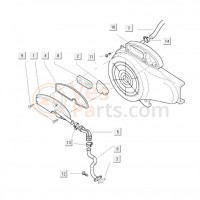 04: Pakking Luchtfilter Vespa ET/LX/LXV/S