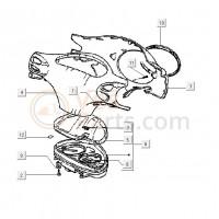 01:Stuurkap/luchtfilter/beplating Schroef D3 x 30