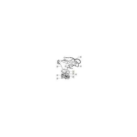10: Koplamprand Vespa ET2/4