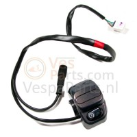 1: Lichtschakelaar Vespa LXV (zwart)