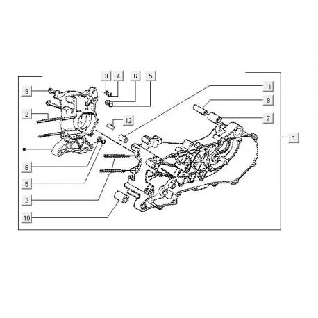 02: Cylinder Tapeind Vespa ET/LX/LXV/S
