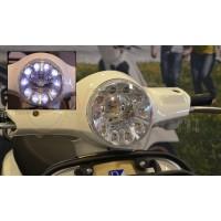 Koplamp LED dagrijverlichting Vespa LX