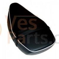 Buddyseat 2-persoons Vespa S/LX zwart