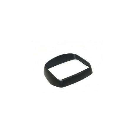 Koplamprand Vespa S zwart mat