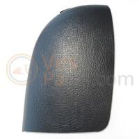 03: Beenschildkofferdeksel Vespa ET2 M04 LH Zwart