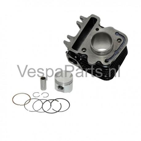01: Cilinder en zuiger compleet Vespa S/LX