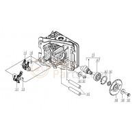 03: Klepstelplaatjes (2.50 mm) Vespa LX/S