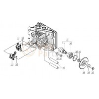 03: Klepstelplaatjes (2.65 mm) Vespa LX/S