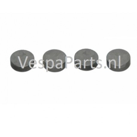 Klepstelplaatje (diverse afmetingen) Vespa S/LX/LXS/ET