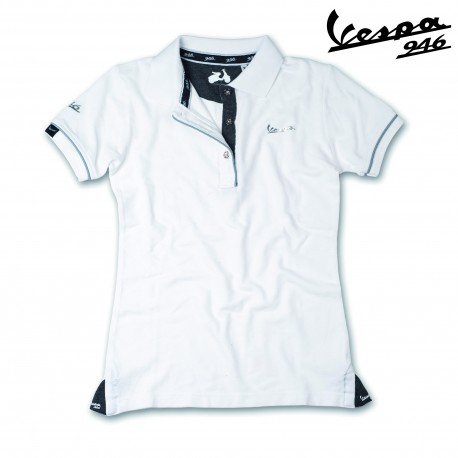 Vespa Dames Polo v946 wit