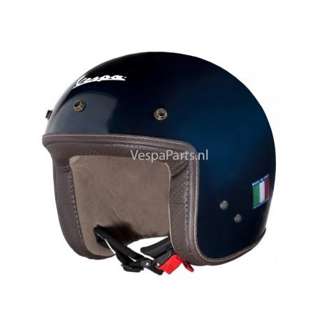 "Vespa Helm ""P-Xential"" blauw metallic"