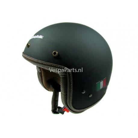 """Vespa Helm """"P-Xential"""" zwart mat"""