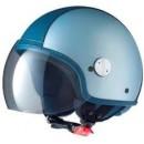 "Vespa Helm ""Copter-Y"" grijs/blauw"