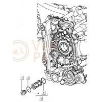 01: Aftapplug Vespa S/LX/LXV/Primavera/Sprint
