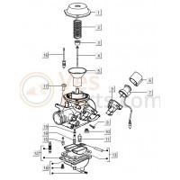 18: Hoofdsproeier Vespa LX/S/LXV
