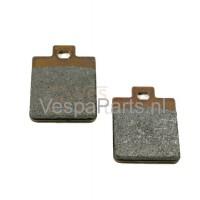 2: Schijf/Remblokset Vespa ET/LX/LXV/S