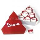 Kerstballen in Vespa Cadeaubox
