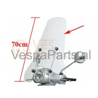 Vespa LX Windscherm hoog Los (EXCL. bevestigingset)