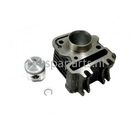 01: Cylinder Zuiger (ex. pakking) Vespa ET4/LX/LXV/S