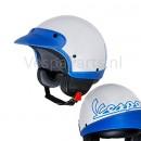 Helm Vespa Classic Jet wit/blauw