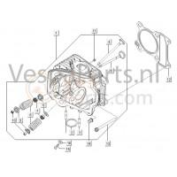 07: Klepseal M01-M04-M11-M27-C25/4t-C26-C28 Vespa ET4/LX/LXV/S