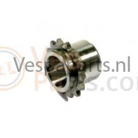 20: Oliepompaandrijftandwiel Vespa ET4/LX/LXV/S