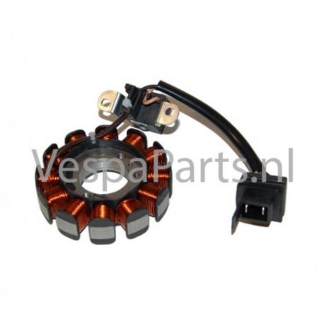 04: Complete ontsteking (Stator) Vespa ET4/LX/LXV/S 4 takt 2valv