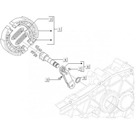 02: Remschoenveer Vespa ET2/ET4/LX/LXV/S