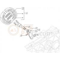 04:Remsleutelas Ar. Exs-M01-M04-C25/4t-C28 Vespa ET2/ET4/LX/LXV/