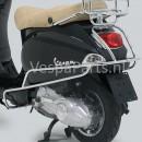 Achtervalbeugel Vespa LX/LXV chroom