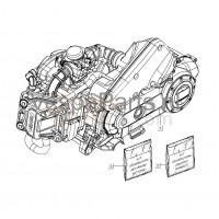 01. Complete Motor Vespa LX/S 50 4T4V