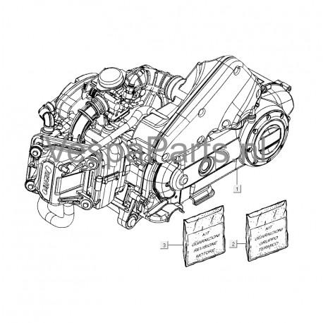 3. Pakking- en Keerringset Vespa LX/S 50 4T4V
