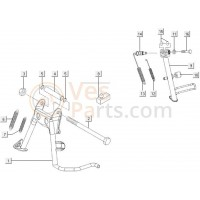 07: Standaardveer C26 Vespa ET4/LX/LXV/S