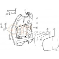 10: Veerhouder Vespa ET2/ET4/LX/LXV