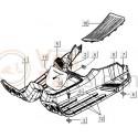 10: Treeplankrubber Vespa ET2/ET4/LX/LXV/S