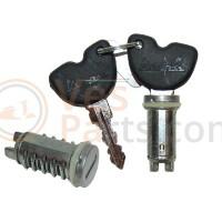 Cilinderslotenset (contactslot) (2x) Vespa LX/ ET2/ET4/LX/LXV/S