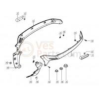 02: Motorscherm Links Vespa LX/LXV (diverse kleuren)