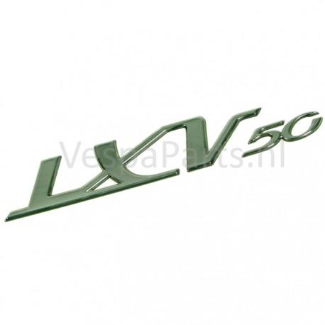 "03: Embleem ""Lxv50"" Vespa LXV"