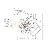05: Stootrubber achterdrager /Buffer Vespa LX/LXV/GTS/GTV