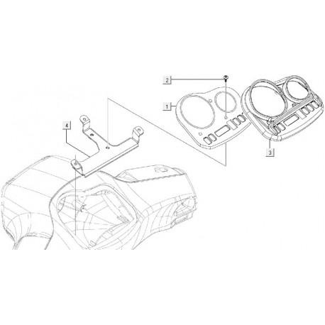 03: Km Tellerplaat Chrome Vespa S