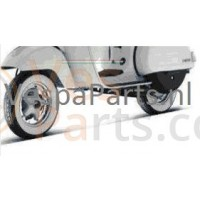 Scooter Buitenband 3.50 x 10 Sava whitewall Vespa P/PX/GS/T5