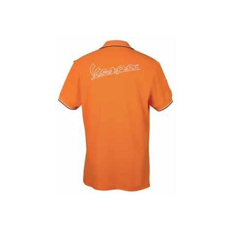 Polo Vespa man oranje