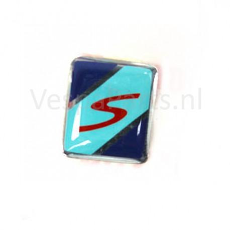 06: Sticker sierstrip Voorspatbord Vespa S