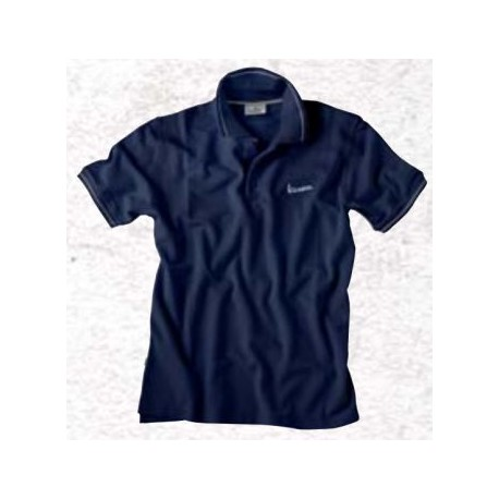 Polo Vespa man navy