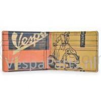 Vespa vintage Portemonnee met opdruk (oranje)