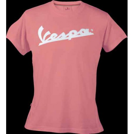 T-shirt Vespa dames roze