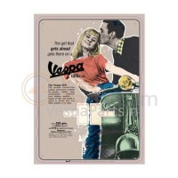 Kalender Vespa The girl that gets ahead