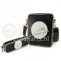 Vespa Tas voor iPad (zwart logo)