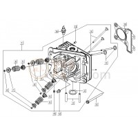 10: Koppakking 0.35 mm Vespa LX/S